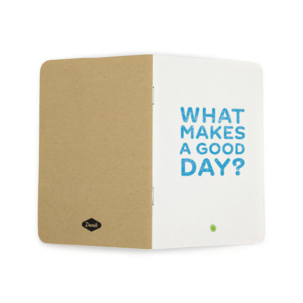 what makes a good day notebook unfolded